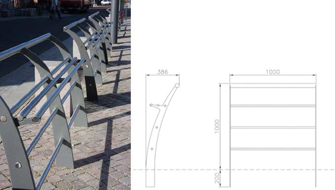 Trafik och milj innovationer staket avgr nsning for Helios arredo urbano